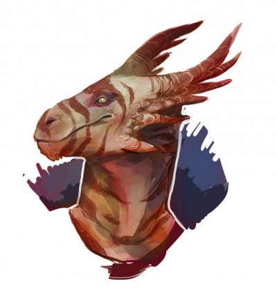 A profile image of a brown and tan Drake, smiling